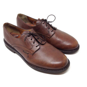 Mephisto Goodyear Welt Brown Leather Oxford Shoes